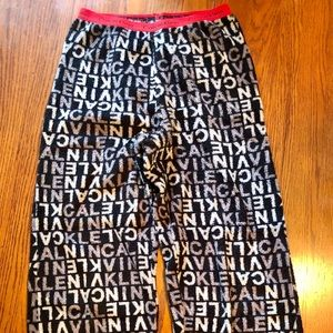 Calvin Klein boys pajama pants